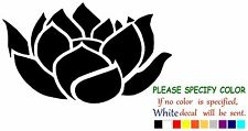 Lotus Flower Buddha #2 Funny Vinyl Decal Sticker Car Window laptop tablet 7""