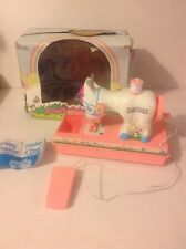 VINTAGE 1980 'LOVELY PONY' TOY SEWING MACHINE KITSCH KAWAII RETRO