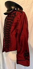 SDL Mens Fitted Taffeta military style  jacket Size XL With Military Hat 59cm