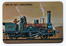 1986 Portugese Pocket Calendar showing British Steam Train from circa 1842