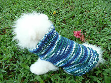 XS handmade knit  dog sweater