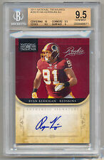 2011 National Treasures RYAN KERRIGAN RC Rookie Auto SP 23/99 BGS 9.5/10 POP 2!!