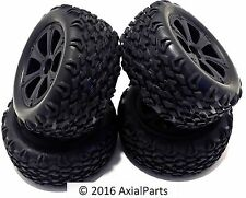 """(4) Redcat Blackout XTE XBE Pro 2.8"""" Off-Road Wheels Tires BS214-009 12mm Hex"""