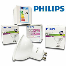 4x Philips 2w = 20w A+ Rated LED GU10 Energy Saving Spot Light Bulb Warm White