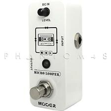 Mooer Audio Micro Looper Mini Looping Compact Guitar Effects Pedal - Brand NEW