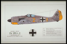 419021 Focke Wulf Fw 190 A 4 A4 Photo Print