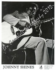 Blues Legend JOHNNY SHINES 8x10 Alleyway Records PROMO PHOTO - Robert Johnson