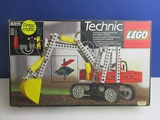 lego 8851 vintage TECHNIC EXCAVATOR DIGGER set COMPLETE instructions BOXED B32