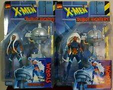 Storm lot of 2 Robot Fighters figures for 1 price X-Men Marvel Comic *A STEAL*