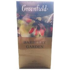 Greenfield Barberry Garden Schwarztee mit Berberitze  Barbaris Tee
