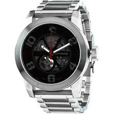 Rip Curl R1 Automatic Watch Stainless Steel Black/Silver $400 Waterproof 100M