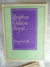 1935 Theatre Royal Programme THE MIDDLE WATCH- Ian Hay,Oliver Burt,