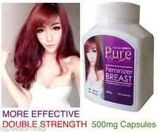 "PURE FEMINIZER ""SEX CHANGE"" PILLS Female Hormone Estrogen Breast Enlargement"