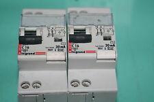 LOT DE 2 disjoncteurs différentiel  C16 30mA 230v  legrand 07863  078 63