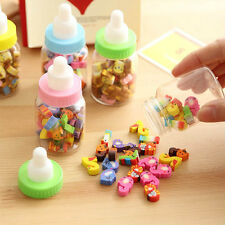 High 25pcs Mini Cute Cartoon Number Rubber Pencil Eraser For Children Stationery