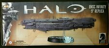 DARK HORSE DELUXE HALO UNSC INFINITY 9'' REPLICA SHIP WITH STAND NEW IN BOX