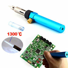 Cordless Welding Pen Burner Gas Blow Torch Soldering Solder Iron Gun Butane UK