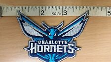 NBA CHARLOTTE HORNETS Logo embroidered Iron on Patch High Quality Shirt Bag