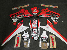 Honda CRF250 14-17 CRF450 13-16 Muscle Milk grafico kit decalcomanie CR2974