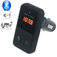 NEW Bluetooth Car MP3 Player Wireless FM Transmitter Modulator Kit SD USB LCD