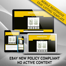 Attractive eBay Auction Listing Template HTML, Listing Page Design-Free Shipping
