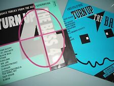 Various ‎- Turn Up The Bass 3 & Turn Up The Bass 4 - 1990 4 VINYL LP  House