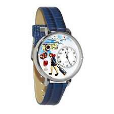 Flight Attendant Watch in Silver (Large) Whimsical Gifts U-0610007
