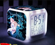 Anime Alarm Clock.Sword Art Online. GGO.Animate. Colorful Light Shifting.