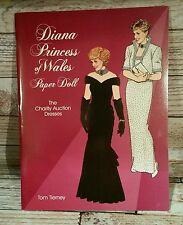PAPER DOLLS PRINCESS DIANA OF WALES NEW UNCUT Tom Tierney unused paper dolls