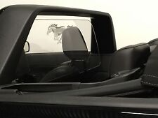 Ford Mustang 2005-2014 Wind Restrictor deflector Interior White Nonilluminated