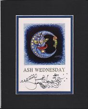 MARDI GRAS 2010 New Orleans ASH WEDNESDAY, Jamie Hayes, SIGNED LITHOGRAPH, MOON