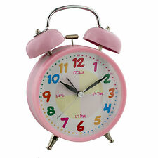 HOMETIME MUSICAL TEACH TIME GIRLS ALARM CLOCK GIFT  CHILDRENS ALARM CLOCKS
