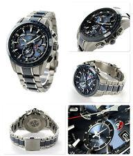 New Seiko Astron Solar GPS Dual-Time Titanium Men's Watch SSE043