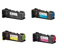 CMYK HIGH YIELD TONER CARTRIDGE SET for DELL 1320c