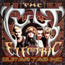 The Cult Guitar Tab ELECTRIC Lessons on Disc