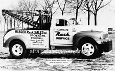 Old Photo.  1948 Nash Tow-Truck
