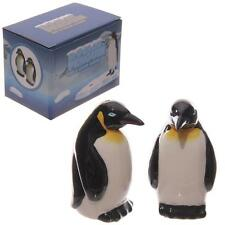 GIFT CUTE CERAMIC PENGUIN  SALT AND PEPPER SET  - GREAT GIFT IDEA-STUNNING