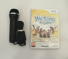 WE SING ENCORE AND1 KARAOKE MICROPHONE WII PAL