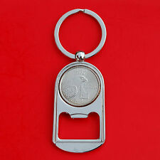 US 2007 Idaho State Quarter BU Unc Coin Key Chain Ring Bottle Opener NEW