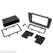 CT24JG03 JAGUAR X TYPE 2002 to 2009 GREY SINGLE OR DOUBLE DIN FASCIA ADAPTER KIT