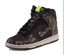 Nike Womens Dunk High Skinny Liberty Libog QS UK 6 Eu 40 black