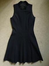 THEYSKENS' THEORY Ladies Black Skater Dress Size US 4/ UK 6