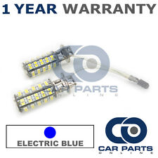 2X ELECTRIC BLUE H3 60 SMD LED FOG LIGHT BULBS FOR LAND ROVER DEFENDER RANGE