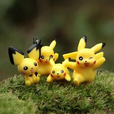 12Pcs New Mini Pokemon Pikachu Figures Toy Cute Lots 2-3cm Garden Decorations