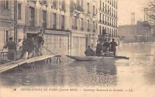 CPA 75 PARIS XVe SAUVETAGE BOULEVARD DE GRENELLE