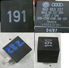 VW Golf 3 2 Relais 191 1h0953227 Intervallrelais Blinker Blinkerrelais Audi VAG