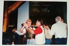 Vintage Photography PHOTO TRADITIONAL GERMAN DINNER BAVARIAN GIRLS DANCE W/ TOUR
