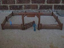 Marx Western Ranch Fence Arch Gate Farm Cowboys 1/32 54MM Playset Toy