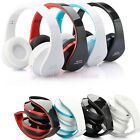 Foldable Wireless Stereo Bluetooth Headphone For iPhone Mobile Cell Phone Laptop