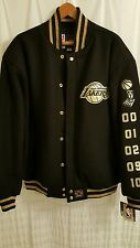KOBE BRYANT 24 LIMITED EDITION GOLD LAKERS JACKET 1/248 2XL